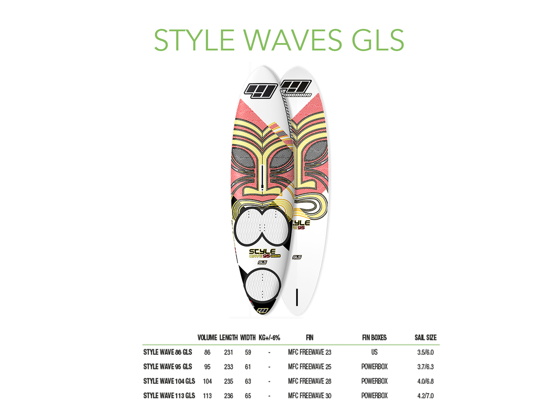STYLE WAVES GLS
